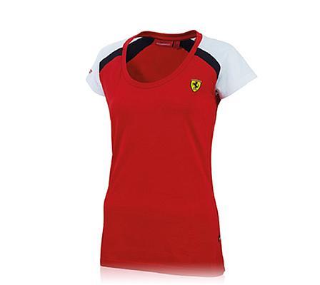 M - Scuderia Ferrari női póló b52e1bca66
